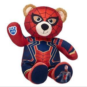 Build A Bear Marvel Avengers Iron Spider Man Bear